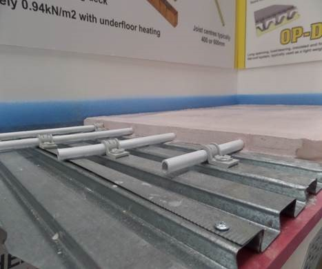 Steeldeck 174 Technology Flowing Screeds Anhydrite Screed