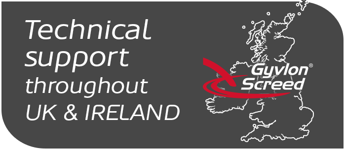 Technical support throughout UK and Ireland